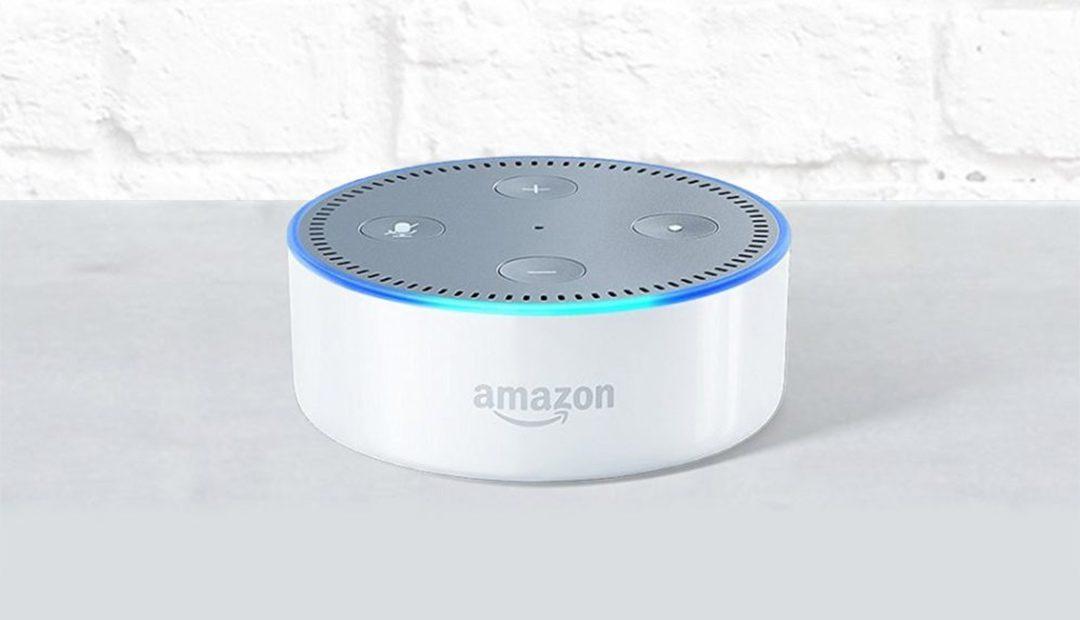 Win An Amazon Echo Dot (2nd Gen) In White