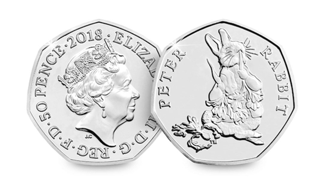 Win a 2018 Peter Rabbit Uncirculated 50p Coin